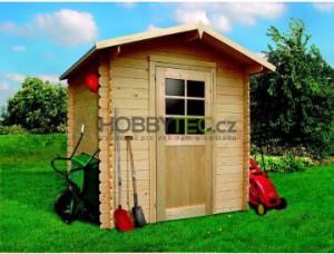 Dřevěný nářaďový domek