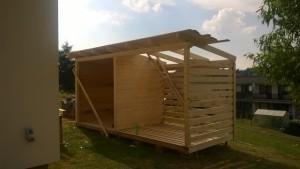 postup stavby domku